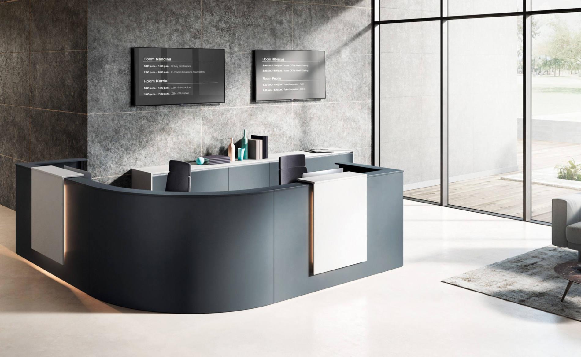 ONline Büroeinrichtungen - Empfang und Warten
